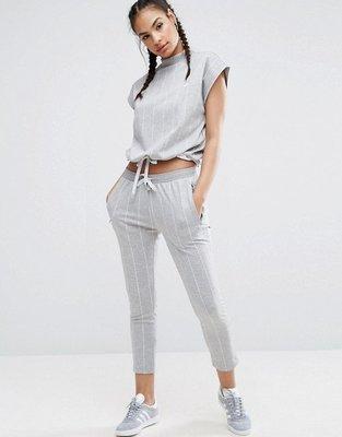 ~The Black Dan Moccani~ Adidas Originals CIGARETTE 條紋 八分運動褲