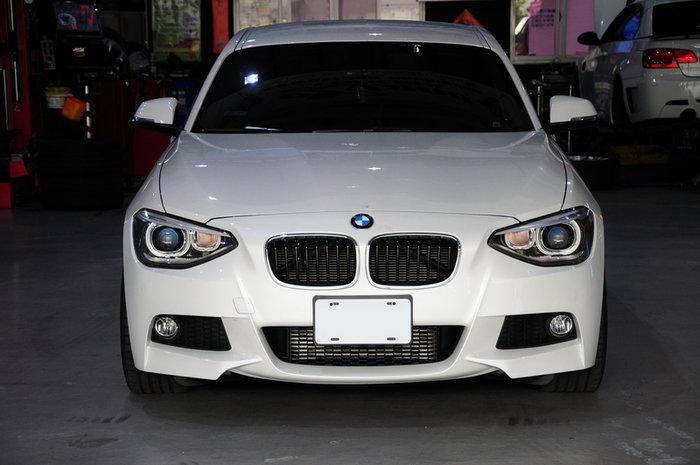 【祥登SD汽車】 For BMW F20 (前期) M-Tech 全車保桿 (前+後+左右) 大包 素材 烤漆 特殊漆