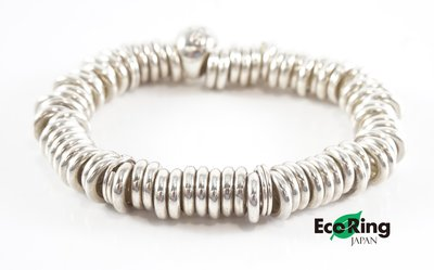 [Eco Ring HK]*Links Bangle / 925 Silver/ Silver*Rank AB -207002743-