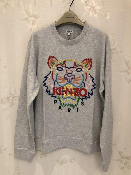 KENZO 男款虎頭刺繡上衣L號 真品保證