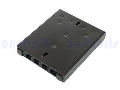 現貨 4RBFX 加厚四路光纖終端盒 4口光纖收納盒 防靜電 烤漆厚鋼板 通用SC FC ST 桌面 掛壁式 熔接盒