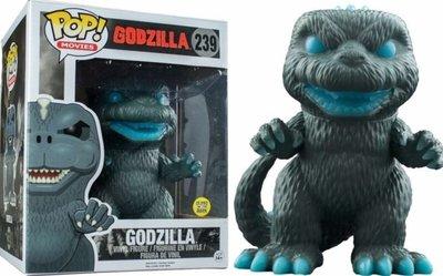 鼎飛臻坊 怪獸之王 Funko Pop Godzilla 哥吉拉 哥斯拉 酷斯拉 公仔 6吋 (夜光型) 絕版 美國正版