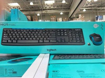 🎉現貨特價!LOGITECH羅技無線鍵盤滑鼠組 MK275防濺灑鍵盤-吉兒好市多COSTCO代購
