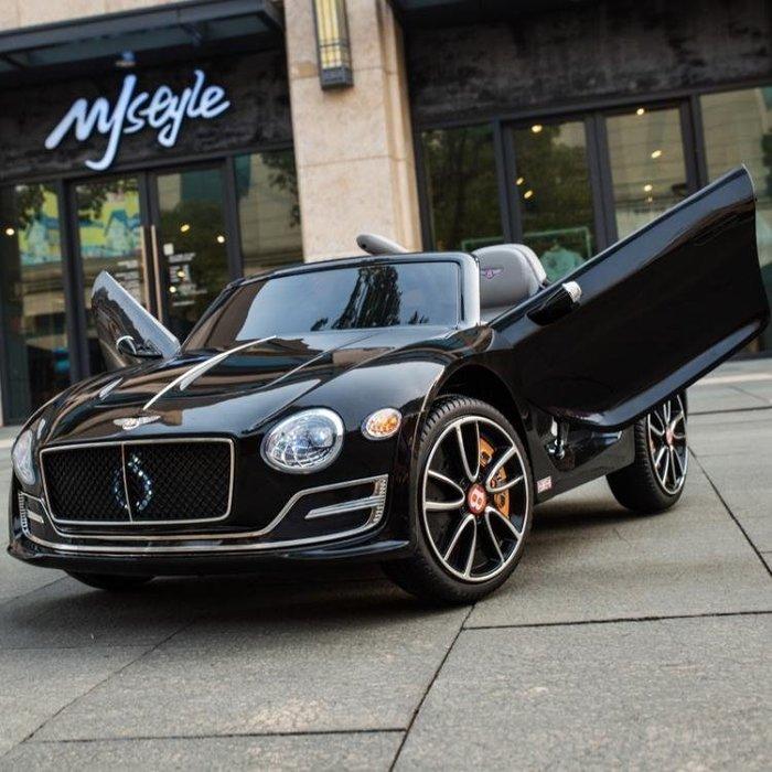賓利兒童電動車四輪汽車1-3-5歲帶遙控寶寶玩具車可坐人充電童車