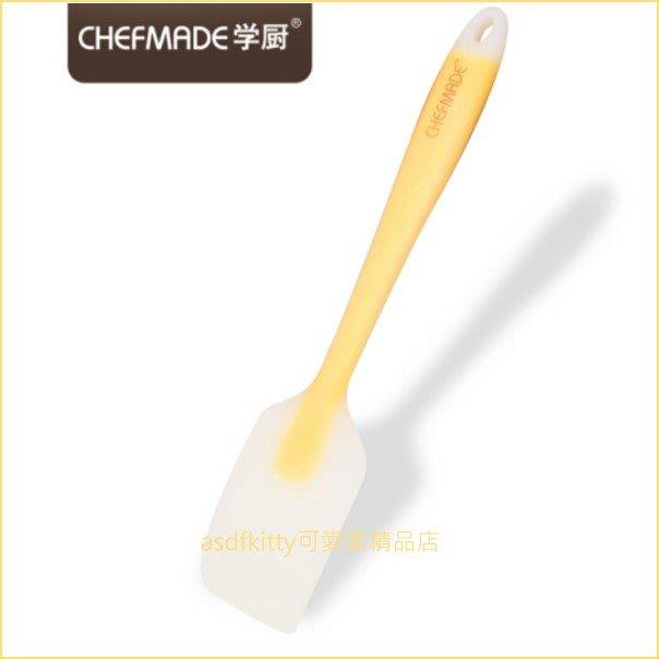 asdfkitty可愛家☆美國 chefmade學廚一體成型矽膠刮刀/攪拌鏟/料理鏟-WK9263-正版商品
