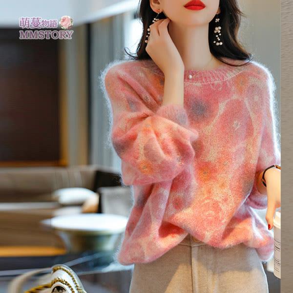 親膚軟糯海馬針織毛衣上衣 萌蔓物語【KF0387】韓氣質女針織衫