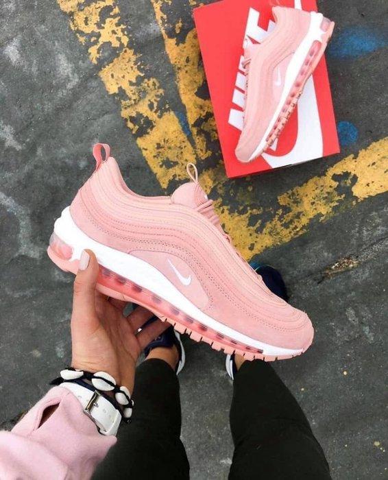 【Cheers】Nike Air Max 97 乾燥玫瑰 玫瑰粉 限定 麂皮 氣墊 老爹鞋 女鞋 BQ7231-600