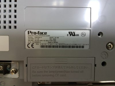 Pro-face AST3501-T1-AF 3580208-01 Panel Touch (9成新)