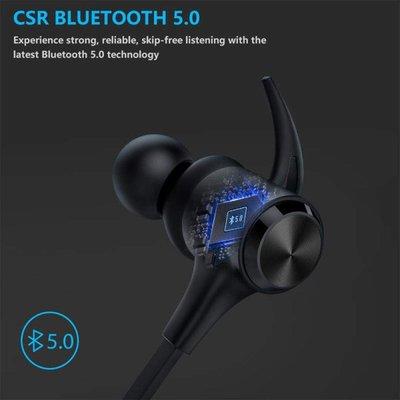 快速充電日本Boltune IPX7防水藍牙耳機運動無線耳機5.0 內置麥克風 CVC 8.0降噪 免提AAC