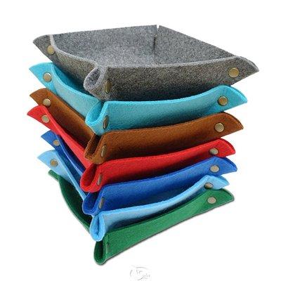大安殿實體店面 可選色 扣扣收納骰盤 Dice Tray 25 x 25cm 多功能骰盤 Dice Bowls 桌遊周邊