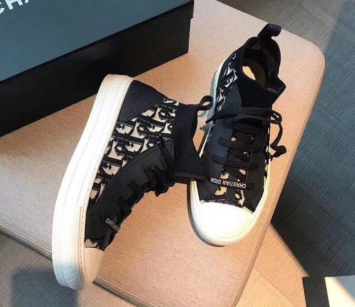 20ssD--/迪家 Fusion 穿孔科技針織 高筒運動鞋