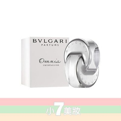 Bvlgari 天之驕女 白水晶 Omnia crystalline 65ml Tester【小7美妝】