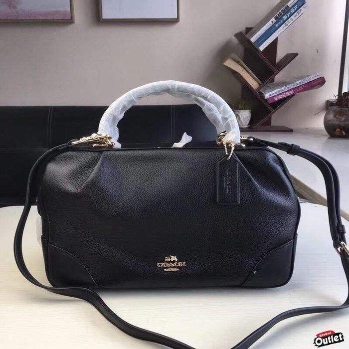 【全球購.COM】COACH 69621 新款 手提包 荔枝紋牛皮枕頭包 美國代購