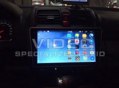 大台北汽車精品 HID HONDA CRV3代 安卓機 10.2 吋多媒體導航 主控面板 影音系統 手機同步 台北威德
