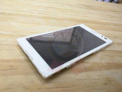 老師傅 SONY C2305 Xperia C S39h原廠液晶帶框 原廠玻璃 液晶總成 LCD 總成 螢幕破裂 維修