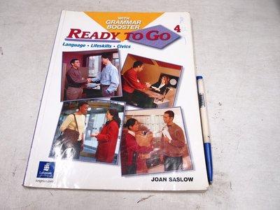 【考試院二手書】《Ready To Go 4 With Grammar Booster》 │六成新(22Z12)