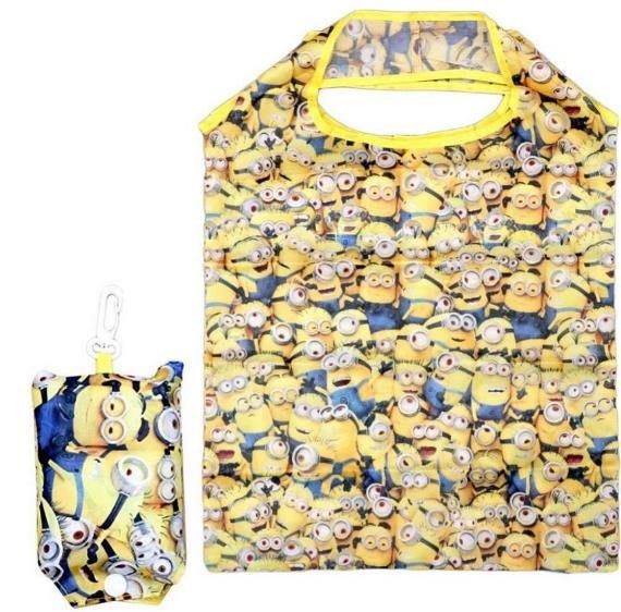 【莓莓小舖】正版 ♥ Disney 迪士尼 神偷奶爸 小小兵 環保購物袋 摺疊環保購物袋 可折疊收納購物袋