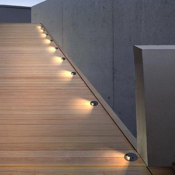 埋燈戶外現代簡約預埋燈防水景觀庭院花園草坪室內外墻燈 茱莉亚