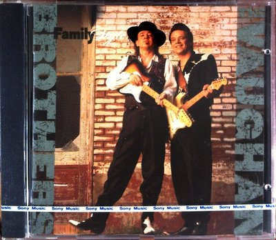 The Vaughan Brothers - Family Style 全新歐版