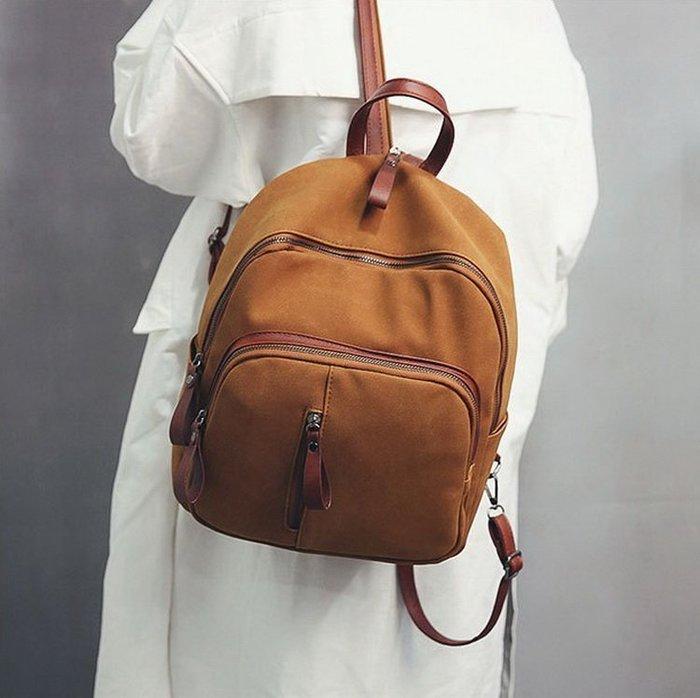 時尚復古雙肩包 後背包 旅行包-3色「預購」Regina Shop【SH7083020】
