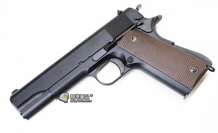 【翔準軍品AOG】KSC/KWA 1911瓦斯手槍 .45手槍 M1911A1 全金屬瓦斯手槍 (2015新版)