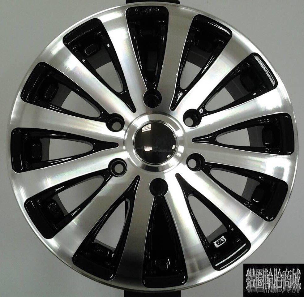 全新鋁圈 H401 16吋 6孔130 6孔139.7 黑車面 福斯VW-Crafter 大T.吉普車專用 載重圈 LK