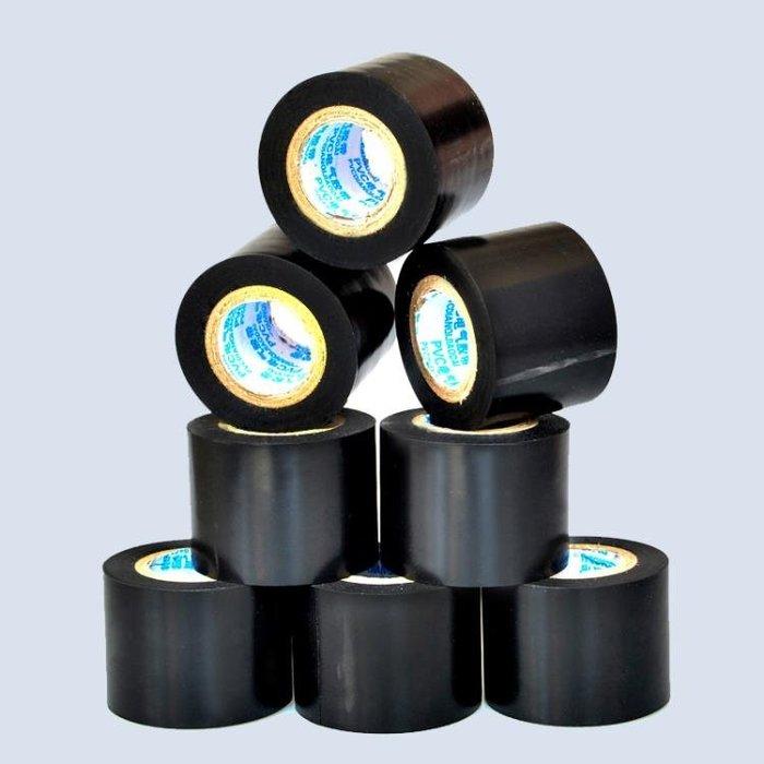 管道補漏防漏防水密封強力膠帶自黏水龍頭水管堵漏水膠布黑色 好康免運