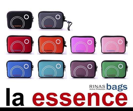 la essence 熱賣商品~LE-9303Q 手機袋/相機包/卡片零錢包~(附頸吊Q 帶) 潛水衣布.防震.抗摔