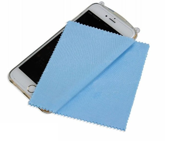 =寵喵百貨= 13cm 電子布 超細纖維電子擦布 手機擦拭布 螢幕擦布 手機擦布 貼膜擦布 眼鏡擦布 水晶擦布 飾品擦布