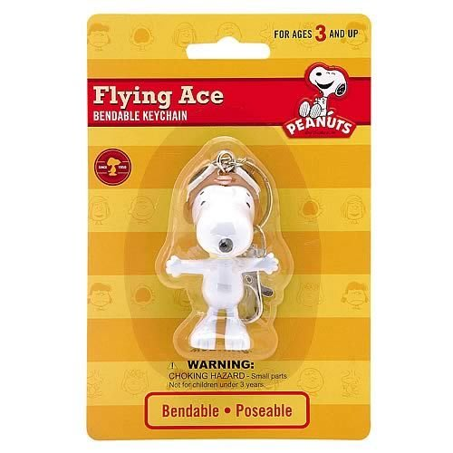 (I LOVE樂多)日本進口FLYING ACE鑰匙圈 SNOOPY 史努比系列商品