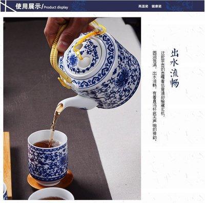 暖暖本舖 送禮超大氣 冰裂茶具組 陶瓷茶具組 泡茶組 茶道 茶壺 茶杯 彩色功夫茶具 豪華茶具組
