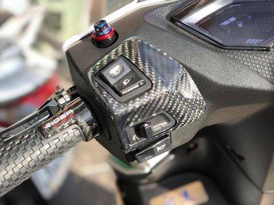 {寬工廠} 全新推出 雷霆S125/150 正碳纖維左右開關貼片(正carbon非水轉印 保固3年)
