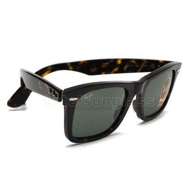 全新現貨 RayBan Wayfarer SQUARE   太陽眼鏡 RB 2151 降古著 玳瑁色*免運