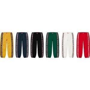 【紐約范特西】預購 SUPREME FW19 Text Rib Sweatpant 休閒褲 運動褲