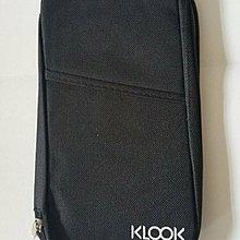 Klook 多功能 旅行證件套 旅行手帳 旅行袋 收納袋 Passport Case