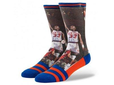 美國加州襪子品牌 STANCE SOCKS x  NBA LEGENDS 傳奇球星系列 PATRICK EWING 紐約 尼克 中長筒襪