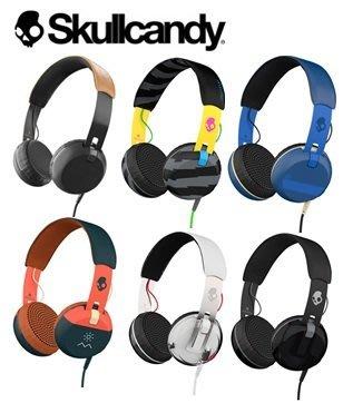 【日產旗艦】美國 正版 Skullcandy 骷髏糖 潮牌 GRIND 葛萊 耳機 耳罩式耳機 線控耳機 台閔公司貨