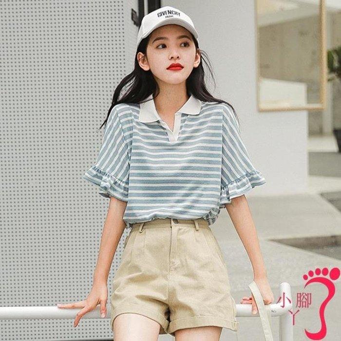短袖褲裝 潮短褲兩件套夏氣質小香風時尚套裝女裝學生洋氣減齡韓版  全館免運