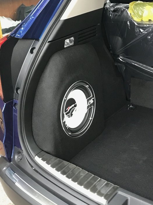 【嘉義.新動力汽車音響】HONDA HR-V 專用中低音箱