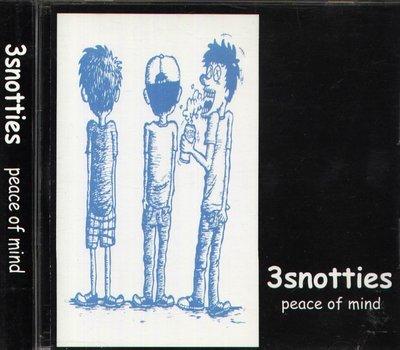 K - 3SNOTTIES - PEACE OF MIND - 日版 3 SNOTTIES