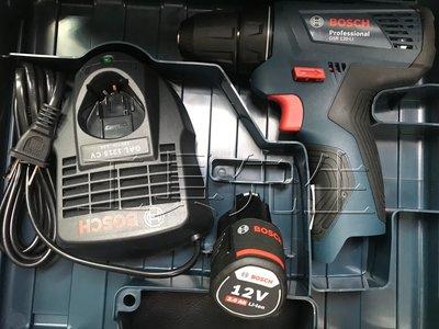 缺貨中/含稅價/GSR120-Li/升級2.0鋰電池x1【工具先生】BOSCH 充電式 電鑽。起子機/鑽孔.鎖螺絲