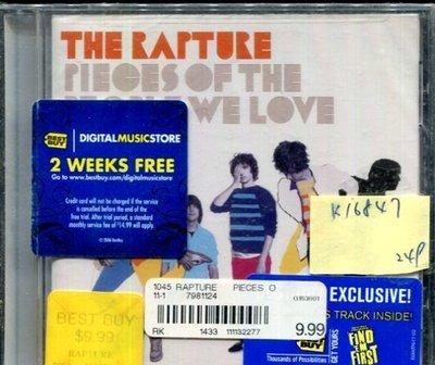 *真音樂* THE RAPTURE / PIECES OF THE PEOPLE WE LOVE 全新 K16847