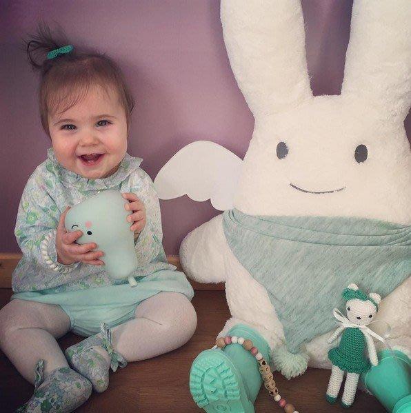 ☆║♥愷心小舖♥║☆Ins新款 軟萌 天使兔  寶寶安撫 玩偶