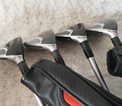 高爾夫球桿Taylormade泰勒梅高爾夫球桿 M6小雞腿 鐵木桿 UT桿SIM帶桿套