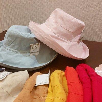 日本防晒遮陽帽 棉麻材質 透氣不悶熱 ...