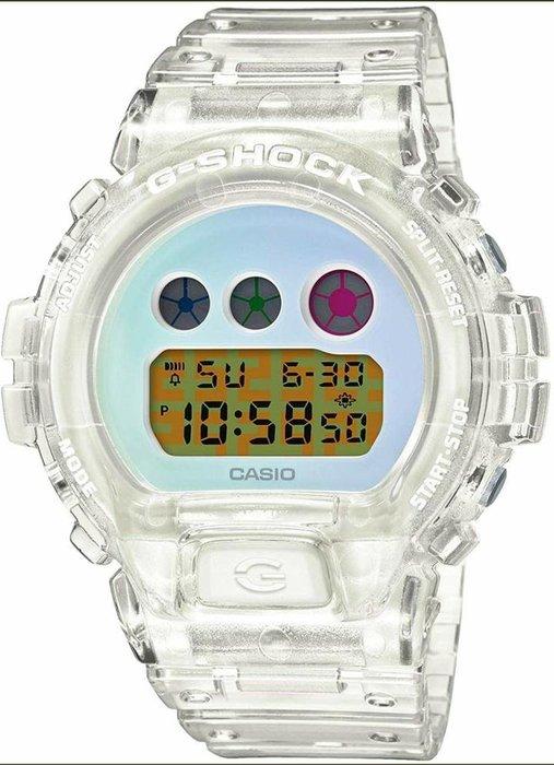 CASIO G-SHOCK 25週年 25th 手錶 紀念錶  DW6900SP 1JR 7JR 太陽能 透明 黑色