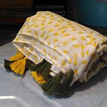 黃色幽雅披肩