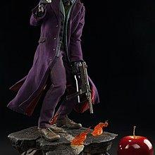 [狗肉貓]_Sideshow_The Dark Knight_黑暗騎士_Joker_小丑_1/4 _雕像_