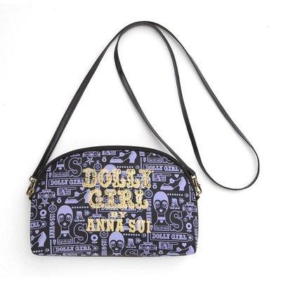 [瑞絲小舖]~日雜Anna Sui20週年紀念時尚特刊附錄Dolly Girl兩用肩背包 斜背包 手拿包 化妝包 收納包