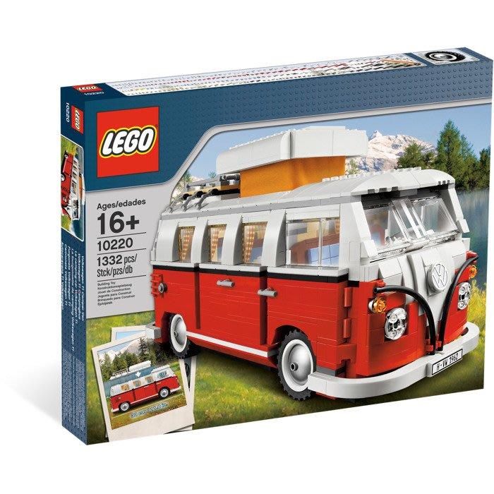 【晨芯樂高】10220 Creator系列 Volkswagen T1 Camper Van